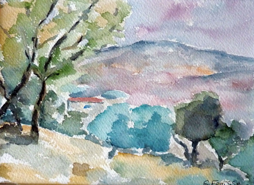 Provence en aquarelle